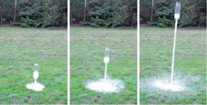 Shoot A Projectile Using A Chemical Reaction Smart Space